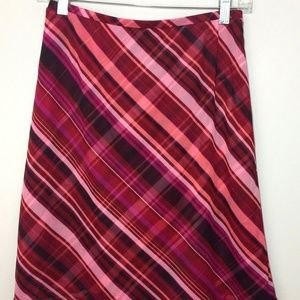 Express Pull-On  A-Line Skirt Overlay Stretch
